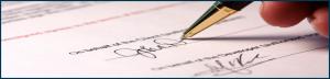 Signing Tab
